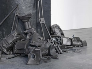 Plan B, 100 x 150 x 110 cm, ceramics, 2010 - detail